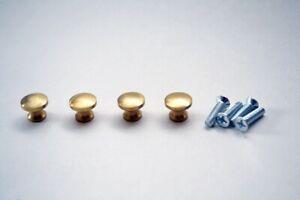 Small Solid Brass Knob Set (4) - Prokraft FBK