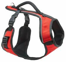 PetSafe Small Red EasySport Adjustable Dog Harness - Handle & Reflective Piping