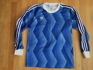 VINTAGE Adidas football soccer shirt rare long sleeve size S