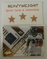 RAY RICE AUTO JERSEY PATCH 2010 ABSOLUTE #'d 1/10 GROUND HOGGS RAVENS