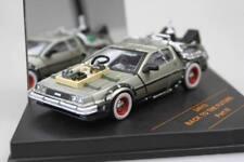 Voiture DeLorean 3 retour vers le futur III en Métal au 1/43