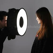 Foldable Round Soft Flash Light Softbox Diffuser for Portrait Photography T7S3
