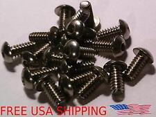 20pcs #4-40 1/4 Stainless Button Head Allen Hex Socket Cap Machine Screws #4 Hd