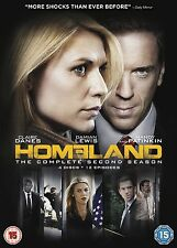 Homeland - Series 2 - Complete (DVD, 2013, 4-Disc Set, Box Set) Brand new sealed