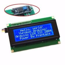 Blue Serial IIC / I2C / TWI 2004 20X4 Character LCD Module Tool For Arduino US