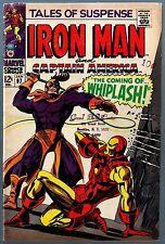 Tales of Suspense (1959) #97 VG- (3.5) 1st app Whiplash Iron Man Captain America