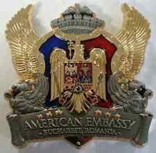 USMC Marine Security Guard Detachment MSG-Det US Embassy Bucharest Romania
