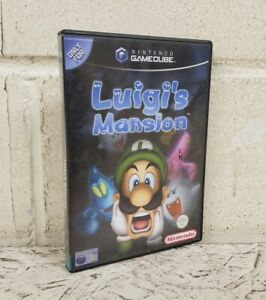 Luigi's Mansion Nintendo Gamecube Game - Manual Included PAL 2002 Very Good(L11)
