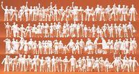 Preiser 16325 H0, Bahnpersonal und Reisende, 120 unbemalte Figuren (1:87), Neu