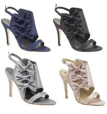 High Heel (3-4.5 in.) Satin Party Women's Shoes