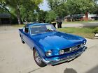 1965 Ford Mustang  Black Interior; Cared for and Maintained; Garage Stored/Covered