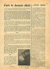 WWII Le Livre Jaune/Chasseur Aircraft/Grand-Place de Bruxelles 1940 ILLUSTRATION