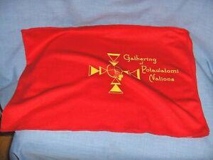 *SOUVENIR COOLING TOWEL - POTAWATOMI NATIONS GATHERING - NEW - NATIVE AMERICAN