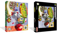- Mischief Makers N64 Replacement Game Case Box + Cover Art Artwork Only