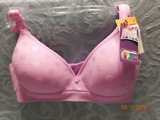 Women's HANES Comfort Flex Fit Wirefree Size Small Lavender DHHU08 NWT