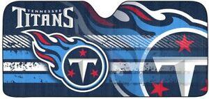 NEW Team Promark NFL Tennessee Titans Car Truck Folding Sunshade Del 2-4 Day