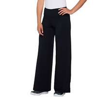cee bee Cheryl Burke Regular Pull-On Solid Flare Pants Color Black X-Small