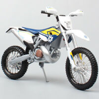 1/12 KTM Motorcycle scale Husqvarna FE501 Dirt Bike Motocross Diecast model toy