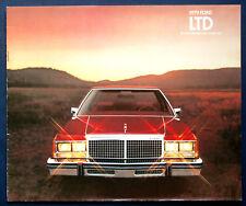 Prospekt brochure 1979 Ford LTD (USA)