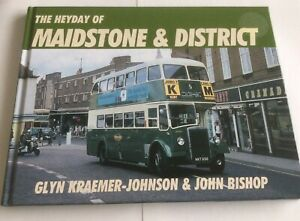 Bus Book, The Heyday of Maidstone & District. Very Good Condition