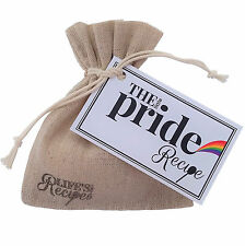 Il piccolo ORGOGLIO ricetta-sacchetto regalo unico Token LGBT gay lesbico bisessuale LOVE
