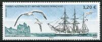 FSAT TAAF Ships Stamps 2021 MNH La Meurthe Ship Birds Landscapes 1v Set
