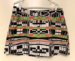 Women's 14 Slazenger Multi-color Golf Tennis Workout Skirt Skort w/undershorts