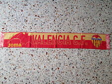 d1 sciarpa VALENCIA FC football club calcio scarf bufanda spagna spain
