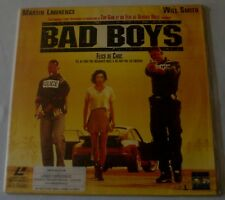 LASERDISC - PAL - BAD BOYS - avec Will Smith, Martin Lawrence