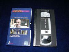 VHS IL COMMISSARIO MONTALBANO - LA VOCE DEL VIOLINO - 1999