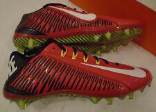 NIB Nike Mens 14 Vapor Carbon Elite TD 2.0 Football Cleats Game Red Black 631425