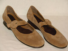 Aerosoles Womens Fawn Suede Mary Jane Flat Loafer Shoe - Size 9.5M