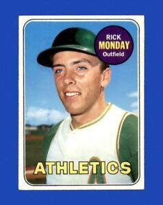 1969 Topps Set Break #105 Rick Monday EX-EXMINT *GMCARDS*