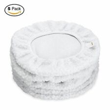 "5 Pack GOOACC 9""-10"" Car Polisher Pad Bonnet Buffing Cover Car Buffer Waxer Pads"