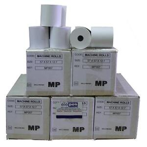 57x57 Graded Rolls 57 x 57 57mm x 57mm 57mmx57mm Till Rolls, 1 Ply Grade Rolls