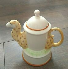 More details for vintage 1970s carlton ware lustre pottery camel teapot