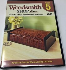 Woodsmith Shop Season 5 DVD -  Brand New!