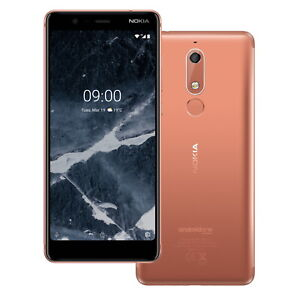 Nokia 5 16GB Copper Sim Free Smart Phone Android Touch Screen Mobile 16mp Cam