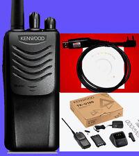 kenwood radio  transceiver UHF400~470MHz 2-Way walkie talkie+software+USB CABLE