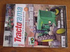 $$$ Revue Tractorama N°31 Ets SornayBM VolvoAlpenland GS15John Deere 303