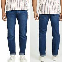 Levis Men's Original Fit 501 Denim Jeans Straight Casual Pants Blue 34 x 34 NEW