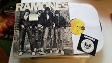 Ramones 1st 1976 Original LP S/T vinyl debut sasd7520 sire misprint labels first
