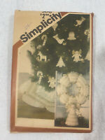Vintage - Simplicity Sewing Pattern - 5176 - Angel Quilted Set