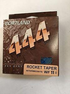 CORTLAND 444 ROCKET TAPER INTERMEDIATE WF11I  FLY LINE  MSRP $36.00