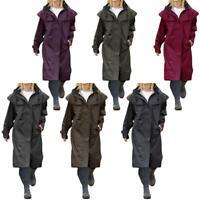Ladies Isla Full Length Waterproof Riding Cape Rain Coat Jacket