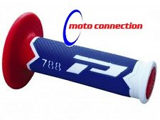 ProGrip 788 Blue/Red Grips Honda CR CRF 85 125 150 250 450 500  Motocross Enduro