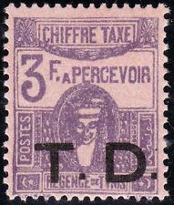 Tunisia Scott J27 TD Overprint - Customs Fee Stamp, Mint H VF