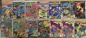 DC COMICS PRESENTS #2 TO #97 + DC VS MARVEL + DC LEGENDS - 25 COMICS