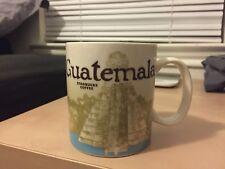 Guatemala Starbucks Mug. W/SKU code MINT Guaranteed!  BARGAIN