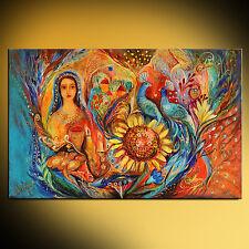 Shabbat Queen super quality giclee print figurative Jewish art Elena Kotliarker